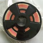 Multicolor Gradient 1.75mm PLA filament / 0.75kg