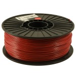 Dark Red 1.75mm ABS filament - 1kg/2.2lbs