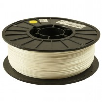 White 1.75mm ABS filament - 1kg/2.2lbs