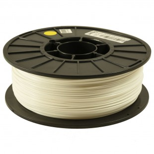 White 1.75mm PLA filament - 1kg/2.2lbs