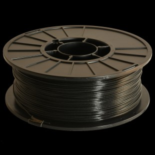 Black 1.75mm PLA filament - 1kg/2.2lbs