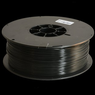 Black 2.85mm PLA filament - 3.5kg/7.7lbs