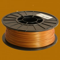 Gold 1.75mm PLA filament - 1kg/2.2lbs