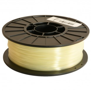 Natural 1.75mm PLA filament - 1kg/2.2lbs