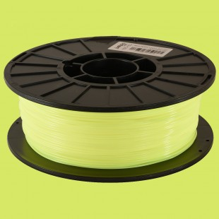 Neon Yellow 1.75mm PLA filament - 1kg/2.2lbs