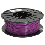 Purple 1.75mm PLA filament - 1kg/2.2lbs