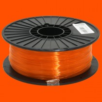 Tramslucent Orange 1.75mm PLA filament - 1kg/2.2lbs