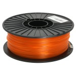 Translucent Orange 2.85mm PLA filament - 1kg/2.2lbs