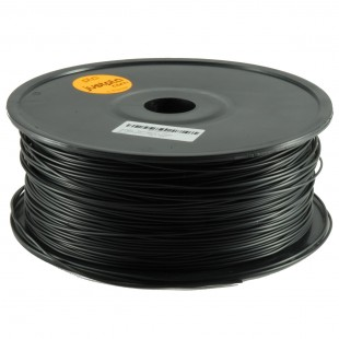 Studio-Line Black 1.75mm ABS filament - 1kg/2.2lbs